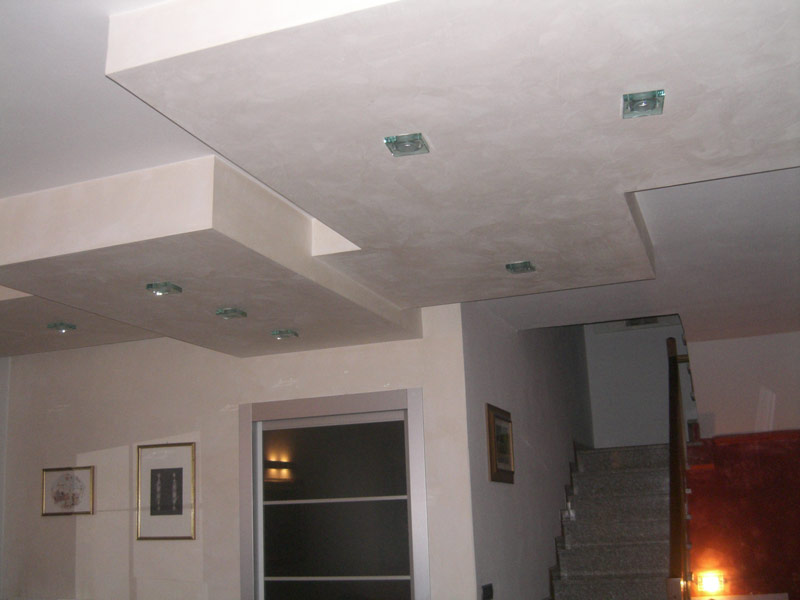 Pebo studio architettura for Controsoffitto soggiorno