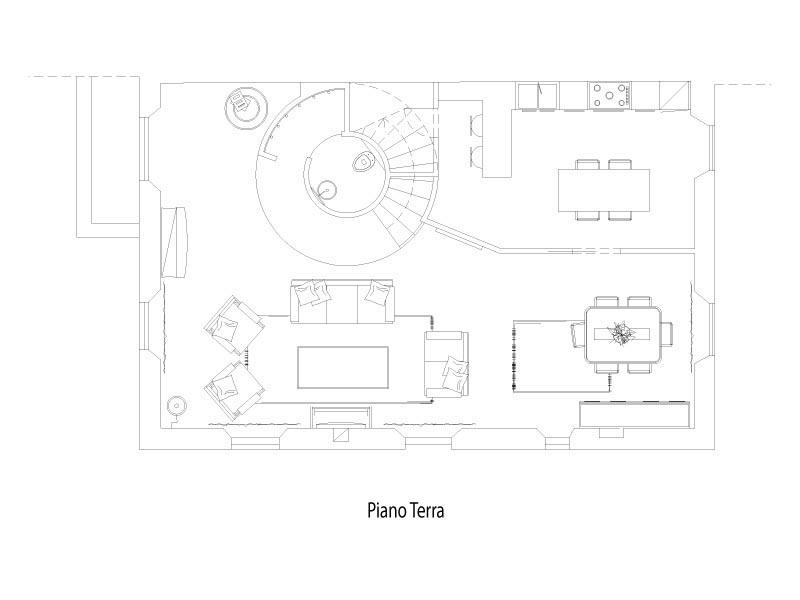 Pebo studio concept for Progetto piano terra